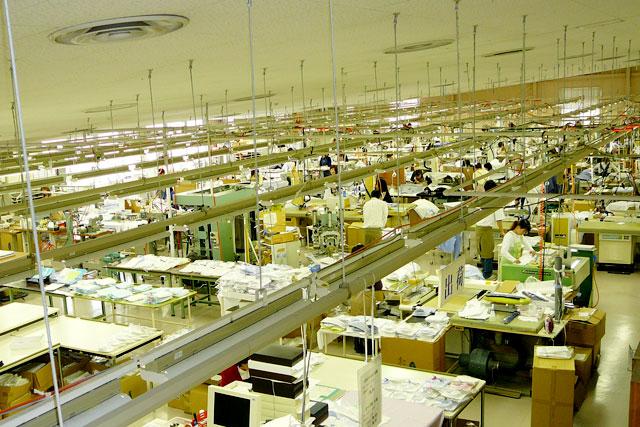 オーダーシャツ工場